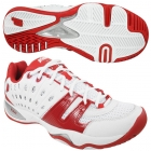 Prince Men's T22 Shoes (Wht/ Red) - Men's Tennis Shoes
