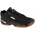 Prince Men's NFS Indoor V Shoes (Black / Silver) - Tennis Shoe Brands