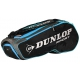 Dunlop Performance 8 Racquet Tennis Bag (Black/Blue) - 9 and 12+ Racquet Tennis Bags