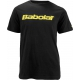 Babolat Men's Logo 2 T-Shirt (Blk/ Ylw) - Men's Tops T-Shirts & Crew Necks Tennis Apparel