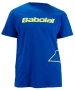 Babolat Men's Outlined Logo T-Shirt (Blu/ Ylw) - Babolat Men's Apparel Tennis Apparel