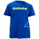 Babolat Men's Outlined Logo T-Shirt (Blu/ Ylw) - Babolat Tennis Apparel