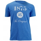 Babolat Men's VS Original T-Shirt (Blu/ Wht) - Men's Tops T-Shirts & Crew Necks Tennis Apparel