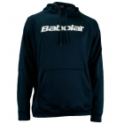 Babolat Men's Text Logo Hoody (Nvy/ Wht) - Babolat Tennis Apparel