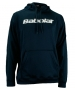 Babolat Men's Text Logo Hoody (Nvy/ Wht) - Men's Outerwear Warm-Ups Tennis Apparel