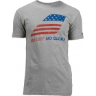 Babolat Men's No Guts No Glory SS T-Shirt (Gray) - Tennis Online Store