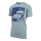 Babolat Men's Box Logo Tee (Heather Grey) - Babolat Men's Apparel