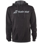 Babolat Men's Logo Hoodie (Heather Black) - Babolat Men's Apparel