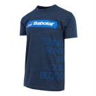 Babolat Men's USA Country Tee (Midnight Navy) - Babolat Men's Apparel