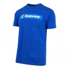 Babolat Men's Italy Country Tee (Royal Blue) - Men's T-Shirts & Crew Necks