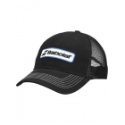 Babolat Men's Trucker Hat (Black) - Tennis Apparel Brands