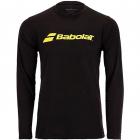Babolat Men's Long Sleeve Crew Neck Pickleball T-Shirt (Logo) -