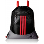 adidas Alliance II Sackpack (Black/Grey/Bold Orange) - Tennis Racquet Bags
