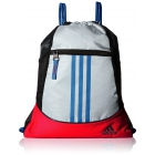 adidas Alliance II Sackpack (White/Bold Orange/Shock Blue) - Tennis Racquet Bags