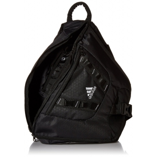 adidas Capital Sling Backpack (Black) - Do It Tennis a2925a673494b