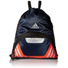 adidas Team Speed II Sackpack (Collegiate Navy/Bold Orange/Grey) - Adidas Tennis Bags