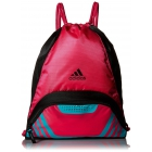 adidas Team Speed II Sackpack (Shock Pink/Shock Mint) - Adidas Tennis Bags