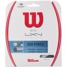 Wilson Duo Power Hybrid NXT Power & Luxilon ALU Power 125 16g Tennis String Set - Luxilon Tennis String
