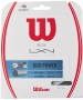 Wilson Duo Power Hybrid NXT Power & Luxilon ALU Power 125 16g Tennis String Set - Hybrid and 1/2 Sets Tennis String
