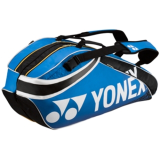 Yonex Pro 6-Pack Racquet Bag (Metallic Blue)