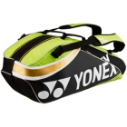 Yonex Pro 6-Pack Racquet Bag (Black/Lime Green) - All Sale Items