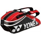 Yonex Pro 6-Pack Racquet Bag (Black/Red) - All Sale Items
