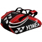 Yonex Pro 9-Pack Racquet Bag (Black/Red) - 7 Racquet Tennis Bags