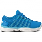 K-Swiss Women's Hypercourt Tennis Shoes (Blue/ Teal) - Performance Tennis Shoes