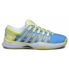 K-Swiss Women's Hypercourt Tennis Shoes (Vivid Blue/Sunny Lime/Graphic Print) - K-Swiss