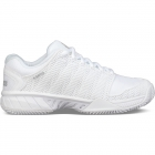 K-Swiss Women's Hypercourt Express Tennis Shoes (White/High Rise) - Types of Tennis Shoes