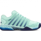 K-Swiss Women's Hypercourt Express Tennis Shoes (Brook Green/Blue Ribbon) - K-Swiss