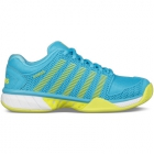 K-Swiss Women's Hypercourt Express Tennis Shoes (Aquarius/Neon Citron) - Performance Tennis Shoes