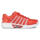 K-Swiss Women's Hypercourt Express Tennis Shoes (Fiesta/White) - K-Swiss Tennis Shoes