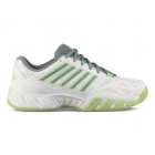 K-Swiss Women's Bigshot Light 3 Tennis Shoes (White/Paradise Green/Abyss) - K-Swiss Bigshot Tennis Shoes