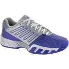 K-Swiss Women's Bigshot Light 3 Tennis Shoes (Purple/Silver) - Lightweight Tennis Shoes