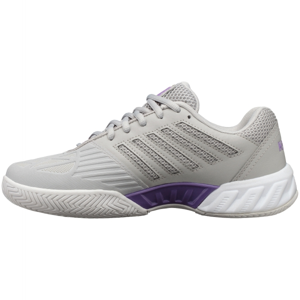 K-Swiss Women's Bigshot Light 3 Tennis Shoes (Vapor Blue/White/Fairy Wren)