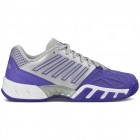 K-Swiss Women's Bigshot Light 3 Tennis Shoes (Purple/Silver) - K-Swiss