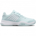 K-Swiss Women's Court Express Tennis Shoes (Icy Morn/White/Icy Morn) -