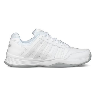 K-Swiss Women's Court Smash Tennis Shoes (White/Highrise)