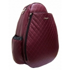 Jet Burgundy Wine Large Sling - Tennis Backpacks