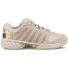 K-Swiss Women's Hypercourt Express SE Tennis Shoes (Pink Tint/Frosted Almond/Black) - K-Swiss