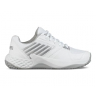K-Swiss Women's Aero Court Tennis Shoes (White/Highrise/Silver) -