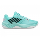 K-Swiss Women's Aero Court Tennis Shoes (Aruba Blue/White/Soft Neon Pink) - Women's Tennis Shoes