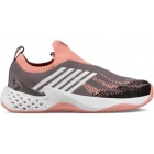 K-Swiss Women's Aero Knit Tennis Shoes (Plum Kitten/Coral Almond/White) - K-Swiss