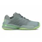 K-Swiss Women's Ultrashot 2 Tennis Shoes (Abyss/Paradise Green) - Tennis Shoes