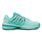 K-Swiss Women's Ultrashot 2 Tennis Shoes (Aruba Blue/Malibu Blue/Soft Neon Pink) - Women's Tennis Shoes