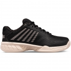 K-Swiss Women's Hypercourt Express 2 Tennis Shoe, Black/Rose Gold/Pink Tint - New Tennis Shoes