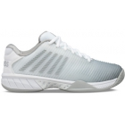 K-Swiss Women's Hypercourt Express 2 Tennis Shoe, White/High-Rise/Silver - Women's Tennis Shoes