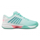 K-Swiss Women's Hypercourt Express 2 Tennis Shoes (Aruba Blue/White/Soft Neon Pink) - Shop the Best Selection of Tennis Shoes for Any Court Surface