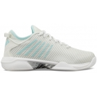K-Swiss Women's Hypercourt Supreme Tennis Shoe, Barely Blue/White/Blue Glow - K-Swiss Tennis Shoes